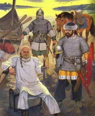 Не верь украинско-евразийской пропаганде! Как на самом деле выглядел князь Святослав.