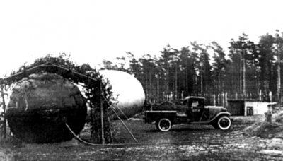 Водород в автомобилях военного времени