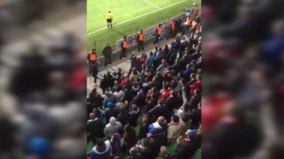 Русские фанаты в Кишенёве: Приднестровье - русская земля!