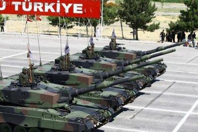 Турецкая армия готовится вторгнуться в Сирию