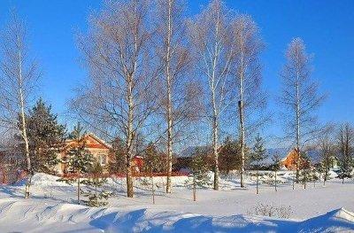 Сказочные домики русских деревень