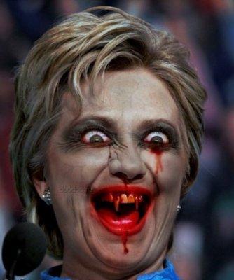Смогут ли глобалистские зомби возглавляемые кровавой Хиллари Клинтон окончательно захватить власть в США?!