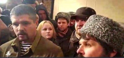 В Сахаровском центре люди выступили против украинской оккупации Новороссии