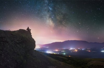 Обворожительная, ведическая красота ночного Крыма