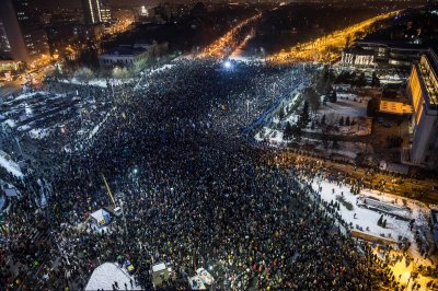 Восстание в Румынии против коррупции
