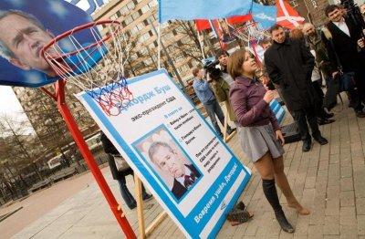 Бывший комиссар движения «Наши» Маша Дрокова сбежала от Путина в США