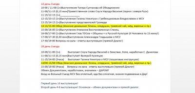 предварительный Регламент Народного Вольного Земского Съезда Державников по Местному Самоуправлению