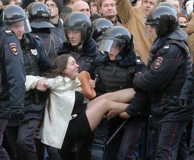 Массовые задержания по всей стране участников протеста против коррупции