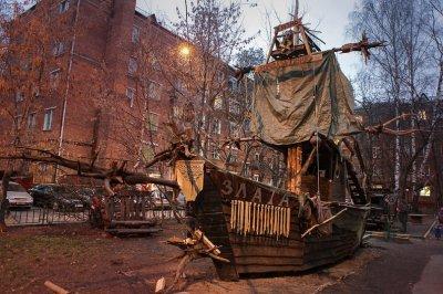 Мэрия снесла одну из лучших детских площадок Москвы