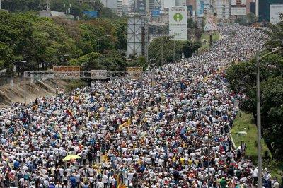 Бунтующая Венесуэла