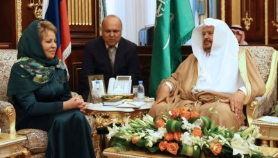 Как Матвиенко и Меркель в Саудовскую Аравию ездили