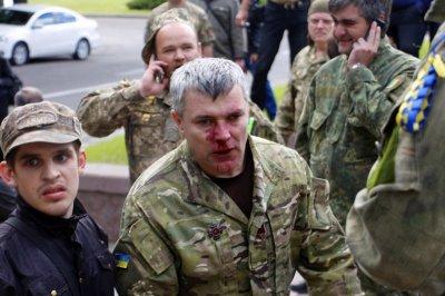 9 мая на Украине массовые драки в Николаеве и Днепре