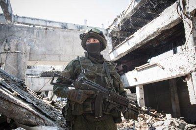 Ожесточенные бои под Донецком и Горловкой