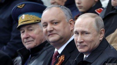 Левак и партнёр Путина Додон объединяется с украинцами для продовольственной блокады русского Приднестровья