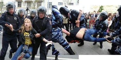 На тверской карнавал обернулся водоворотом насилия