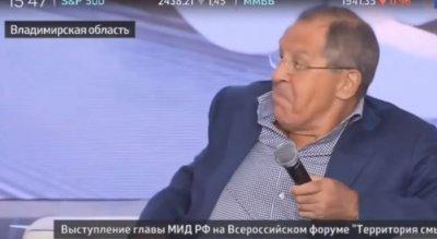 Оксана «Вёльва» Борисова задала вопрос Лаврову про Донбасс и судьбу русских людей