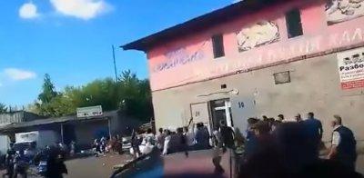 Массовая драка кавказцев с среднеазиатами на рынке в Нижнем Новгороде