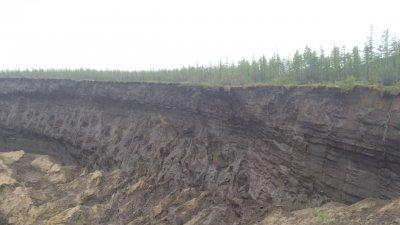 «Врата ада» в Сибире стали больше на 20 метров