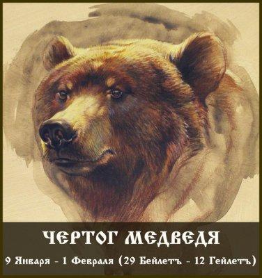 Чертог Медведя (9 января - 1 февраля)