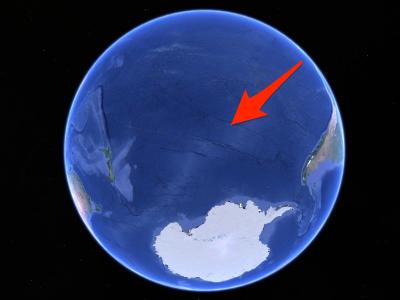 Где находится кладбище космических кораблей на Земле ?