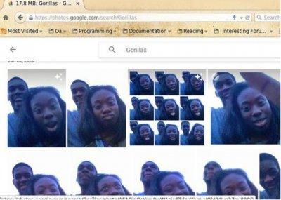 Google запретил в фотопоиске слово «горилла», чтобы не огорчать ниггеров