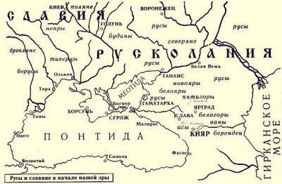 Михайло Ломоносов о Русколани