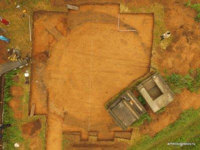 На псковщине обнаружили следы древней цивилизации