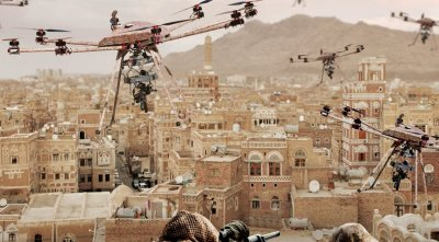 Наступает эра войны дронов