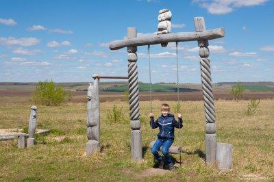 Эрзянский музей-этнопарк под Лукояновым в Нижегородской области