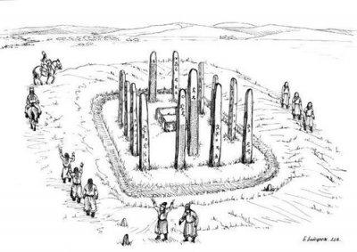 В Монголии обнаружен таинственный саркофаг