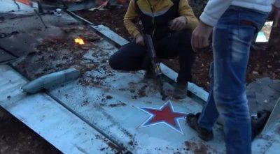 Российский штурмовик Су-25 был сбит в Сирии