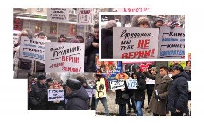 Олигарх Грудинин - угнетатель народа, защитник Сталина и вор