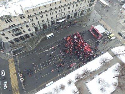 Дутая поддержка кандидата от еврейского народа: в Москве на согласованный(!) митинг за Грудинина пришло менее 500 человек