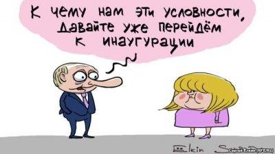 Как рисовали явку на выборах президента РФ в 2018 году