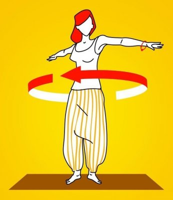 Пять тибетских упражнений, чтобы проработать все мышцы за 10 миннут