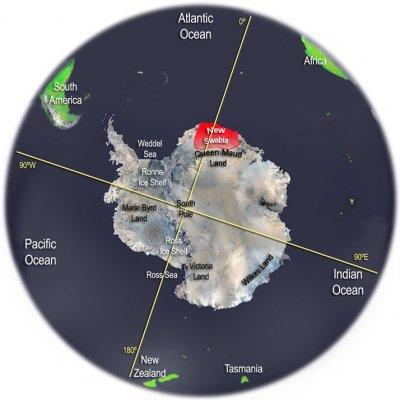 Аномалия в Антарктиде - База? Пришельцы?