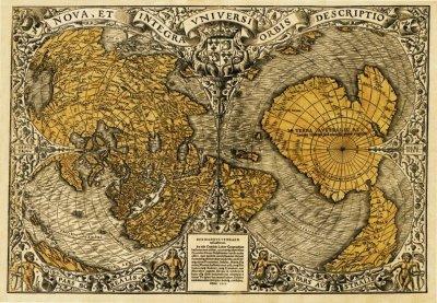 Атлас Меркатора - доказательство существования Гипербореи, Арктиды, Орианы