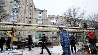 Взрыв газа произошел в городе Шахты Ростовской области