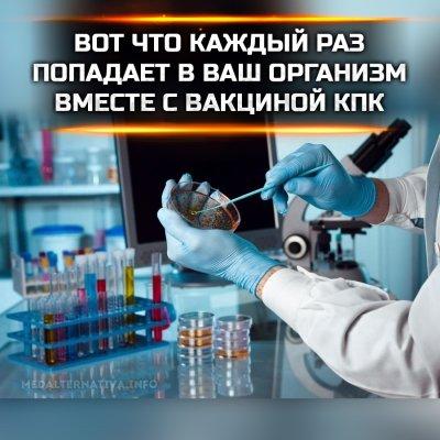 Состав вакцин. Что попадает в организм человека вместе с вакцинами