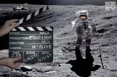 Создатель wikileaks раскрыл документальные кадры постановочного полета на луну