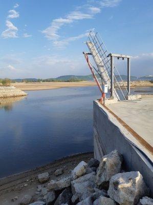 В Волге закончилась вода. Сотрудники ГЭС устроили экологическое бедствие