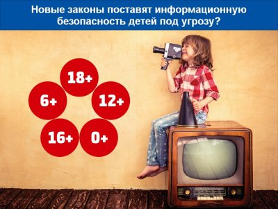 Новые законы как угроза информационной безопасности российский детей