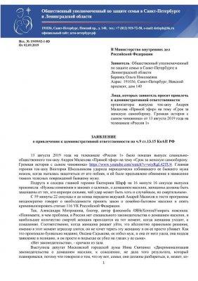 Прошедшее лето в России можно смело называть «летом лоббистов семейно-бытового насилия»