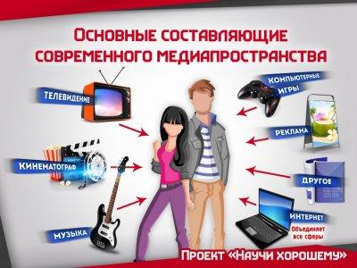 СМИ учавствуют в образовательной и воспитательной системах