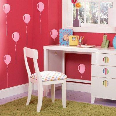 Идеи использования воздушных шаров в интерьере жилища