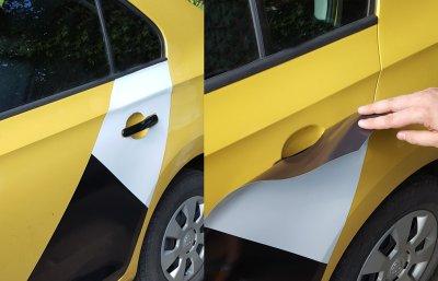 Изготовление магнитных наклеек на автомобиль в Санкт-Петербурге