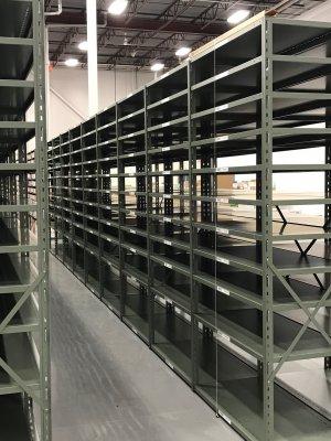 Продажа и изготовление полочных стеллажей для складов