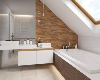 Как выбрать плитку для ванной. 5 интерьерных решений