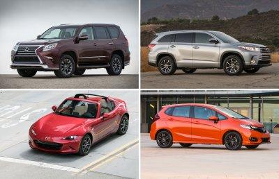 10 самых надежных автомобилей 2018 года
