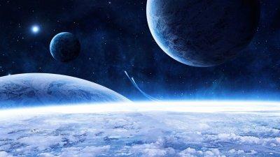 Космос - завораживающий мир